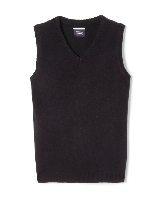 Youth Sweater Vest with Embroidery