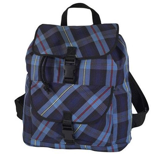 Plaid Book Bag