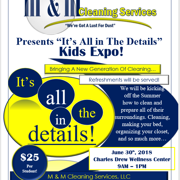 It's All In The Details Kids Expo