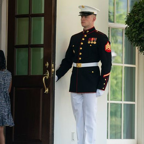 George Floyd's Daughter Headed Into The White House