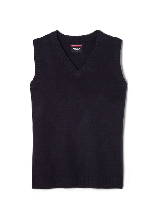 Adult Sweater Vest with Embroidery