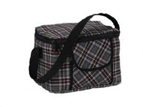 Plaid Lunch Bag