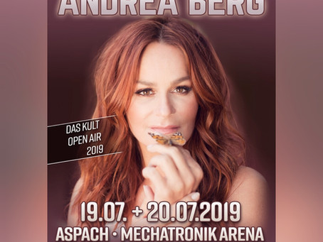 MEGA NEWS Herzgold ist im Vorprogramm von Andrea Berg 07/2019