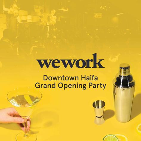 Wework Downtown Haifa | Advertisement | Branding