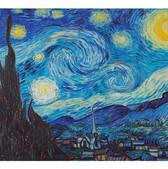 Van Gogh 'Night with stars'