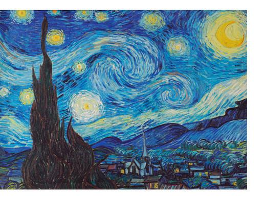 Van Gogh 'Nacht met sterren'