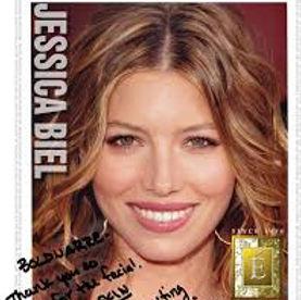 eminence organic skin care jessica biel