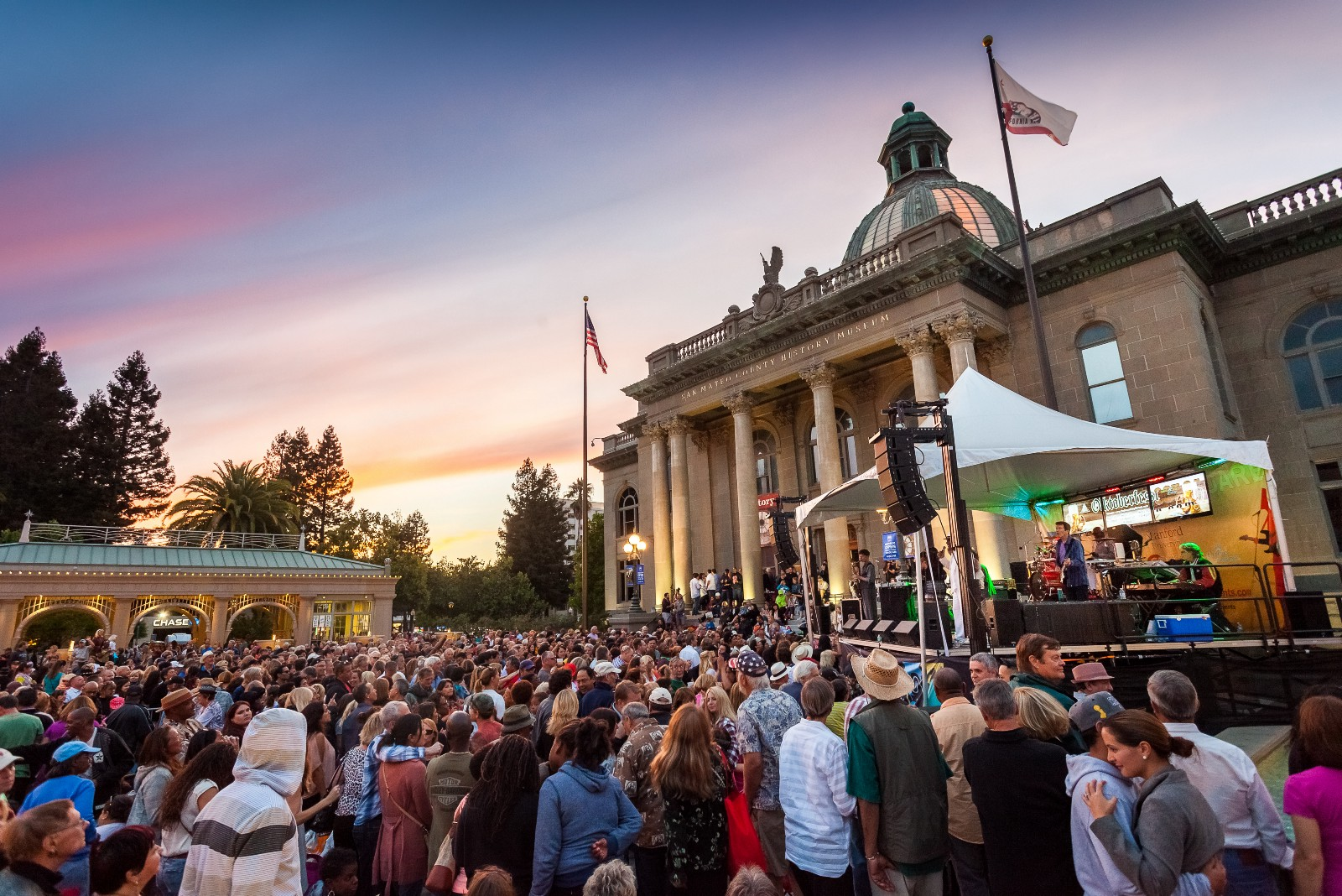 Redwood City Courthouse Concert