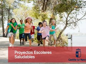 Proyectos Escolares Saludables recogerá como novedad el reconocimiento acción formativa innovación