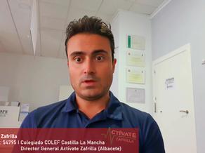 Víctor Zafrilla, col. 54795 y Director General Actívate Zafrilla (Albacete)