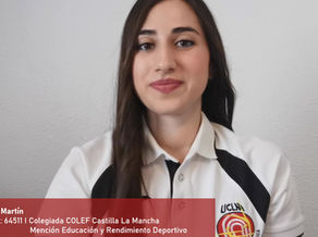 Leyre Martín, Col. 64511 Especialista en Educación y Rendimiento