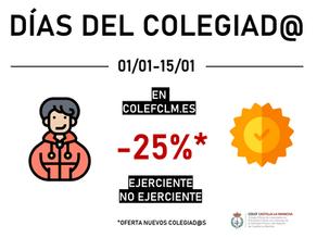 COLEF Castilla-La Mancha lanza una promoción para año nuevo