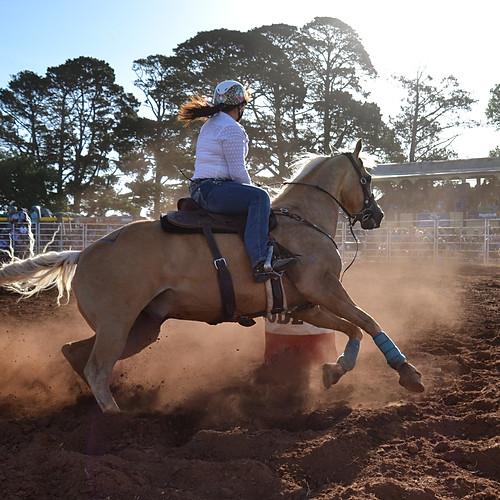 Barrel Racing- Kingston Rodeo