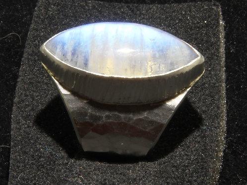 Silber Ring mit Mondstein