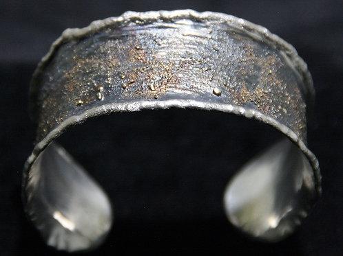 Armspange Silber Gold
