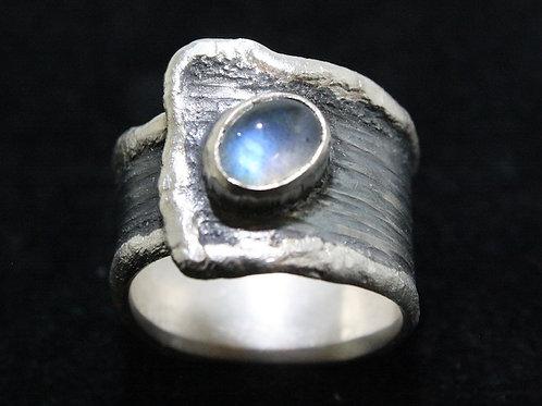 Labradorit Silber Ring