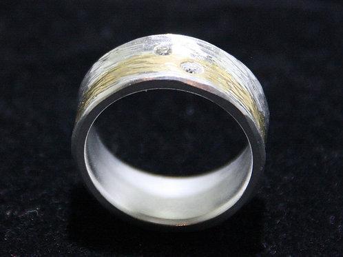 Diamant Bicolor Ring