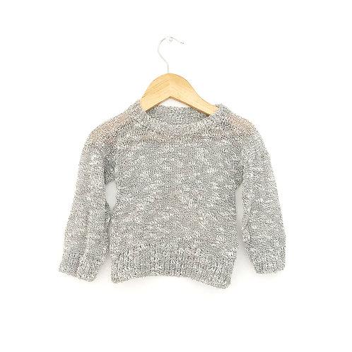 Sweater melange hilo ultra fino