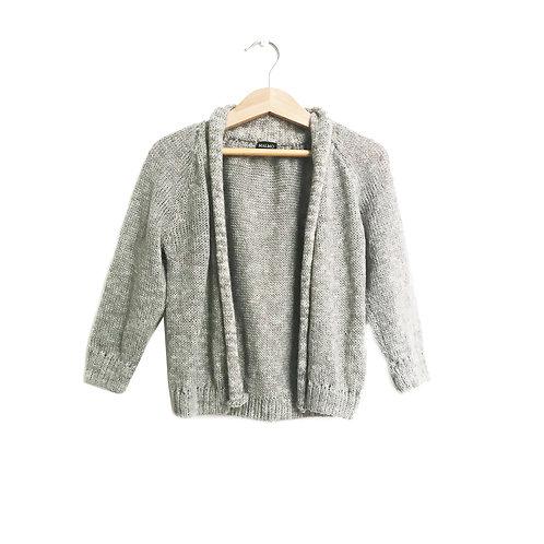 Saquito tejido gris