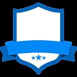 Blank Blue Badge