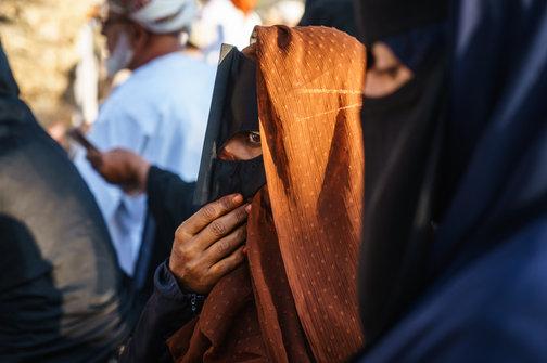 Bedouin burkas