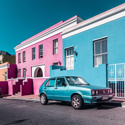 Colourful Bo Kaap District