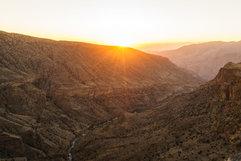 Sunset over Jebel Akhdar