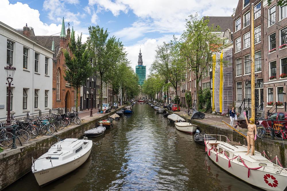 Groenburgwal Canal Amsterdam