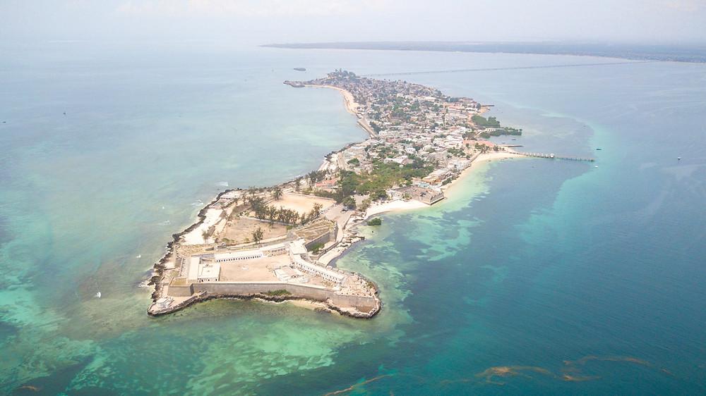 Drone Shot of Ilha