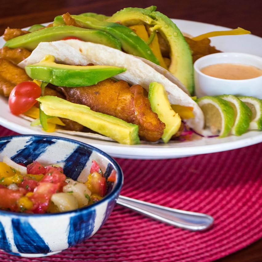 Fish Tacos Blue Zebra Lodge