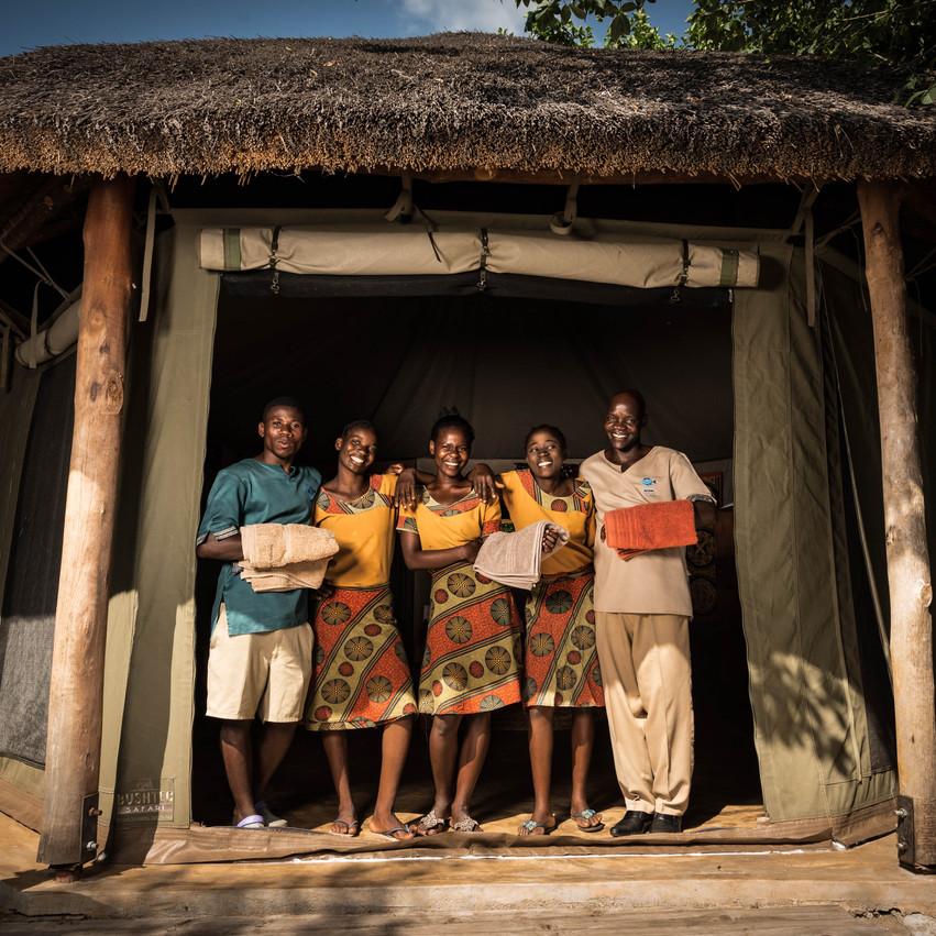 Blue Zebra Island Lodge Staff