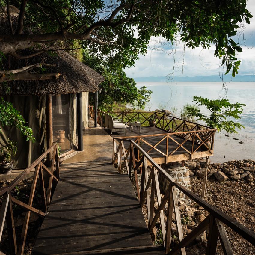 Blue Zebra Island Lodge Chalet