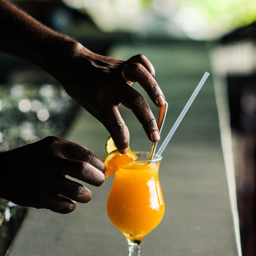 Cocktail Blue Zebra Lodge