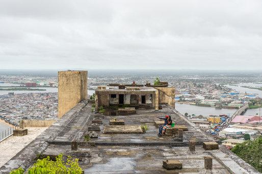 Rooftop ruins