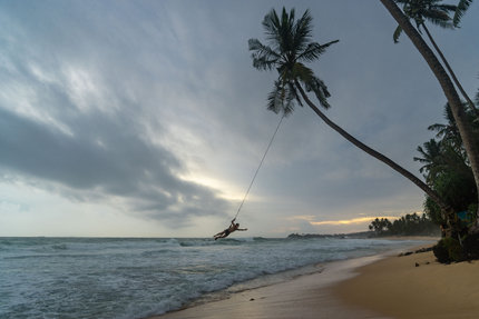 Beach swings!