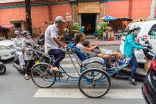 Saigon rickshaws