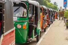 Tuk-Tuk, bajay, rickshaw or bajaj...