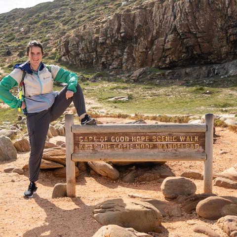 Lauren conquers Cape Point