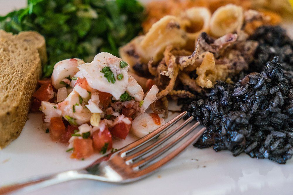 Konoba Feral Seafood platter