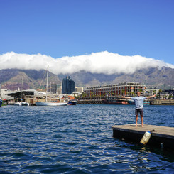 Table Mountain from Victoria & Alfred Waterfront