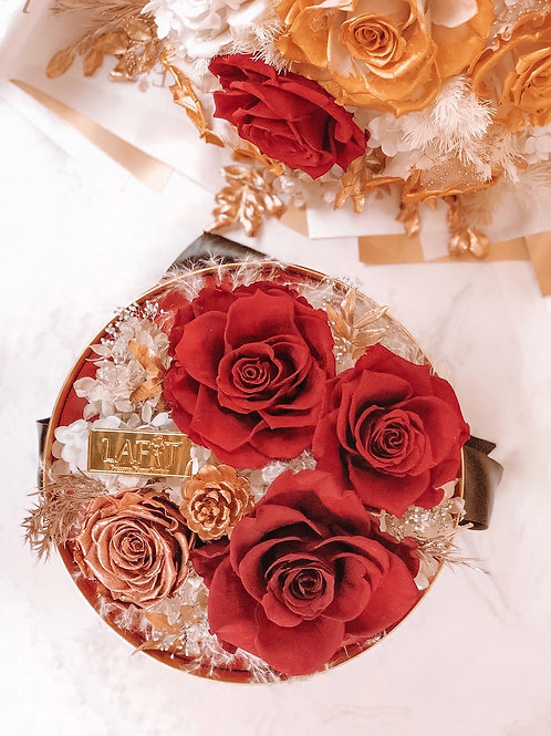 Rose Delight Box Red
