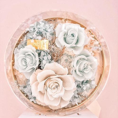 Rose Delight Box Tiffany Blue