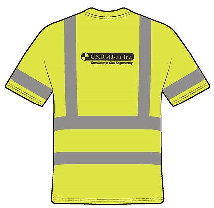 Class 3 Short Sleeve Safety Shirt