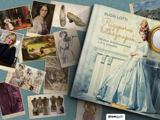 Budai Lotti Párizsban testközelből szemlélte a gyönyörű, díszes ruhákat!