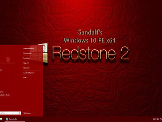 Gandalf's Windows 10PE x64 Redstone 2 build 15063 version