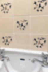 handmade tiles, bespoke tiles, tile commission, Pentimento ceramics