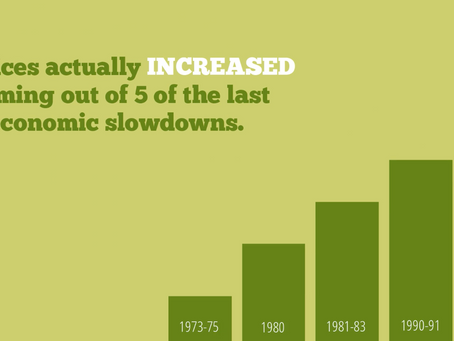 Will the next Economic Slowdown impact the value of your home?