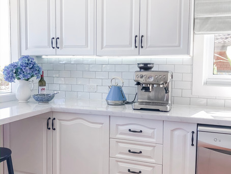 Our Budget White Kitchen Makeover!
