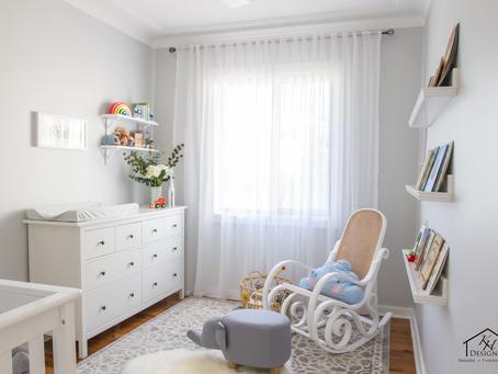A peaceful neutral nursery!