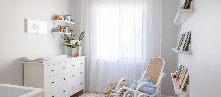 A peaceful neutral nursery!